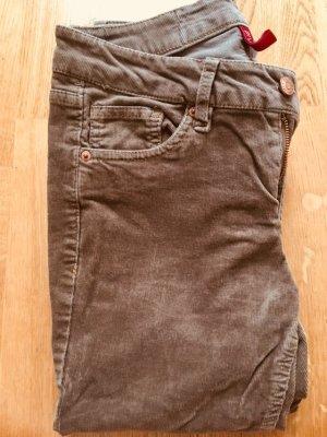 H&M Divided Pantalone di velluto a coste multicolore
