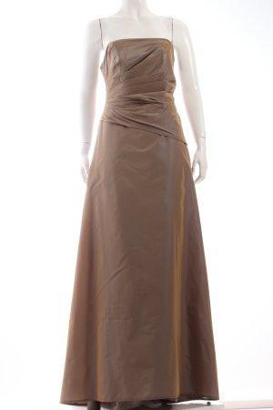 Chou Chou Abendkleid bronzefarben Eleganz-Look