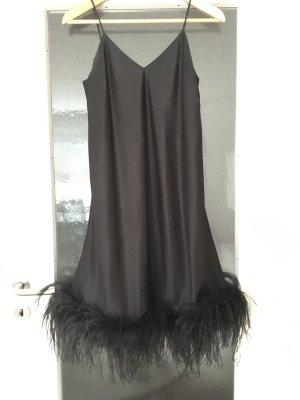 Chou Chou Vestido de cóctel negro Poliéster