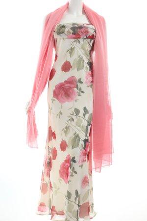 Chou Chou Maxikleid Blumenmuster Romantik-Look