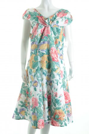 Chou Chou Petticoatkleid Blumenmuster Rockabilly-Look