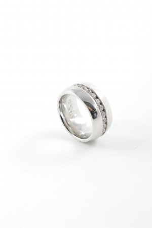 Christ Silver Ring silver-colored elegant