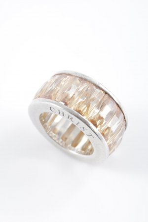 Christ Statement Ring silver-colored-apricot elegant