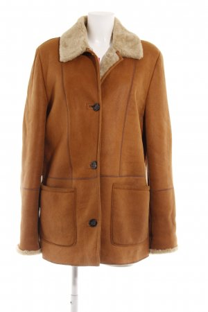 Christ Winterjacke cognac Casual-Look