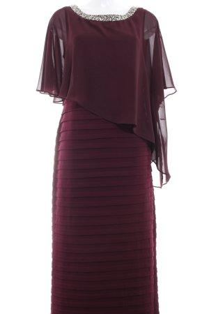 Christian Berg Abendkleid braunviolett Elegant