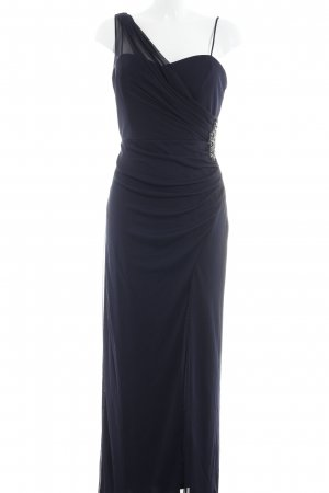 Christian Berg Abendkleid dunkelblau Elegant