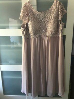 Christian Berg Cocktail Dress dusky pink-mauve polyamide
