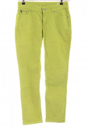 Christian Berg Corduroy Trousers green casual look