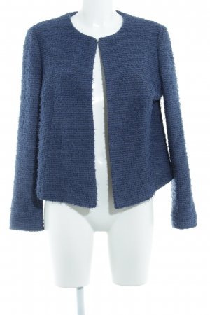 Christian Berg Short Jacket dark blue flecked casual look