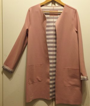 Christian Berg Between-Seasons-Coat dusky pink polyester