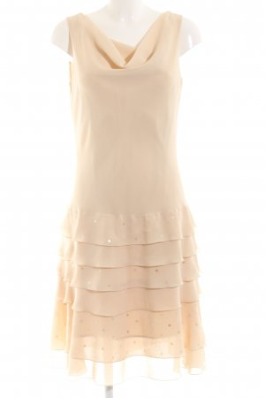 Christian Berg Midi Dress nude elegant
