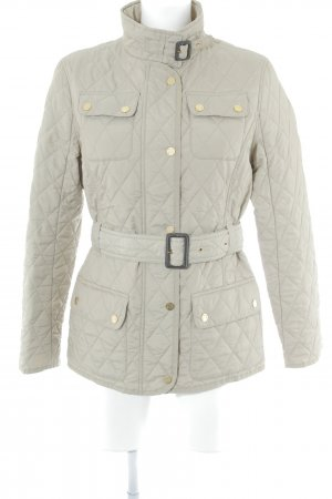 Christian Berg Steppjacke goldfarben Steppmuster Street-Fashion-Look