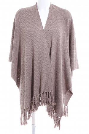 Christian Berg Strickponcho pink Casual-Look
