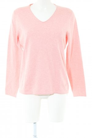 Christian Berg Knitted Sweater pink flecked casual look