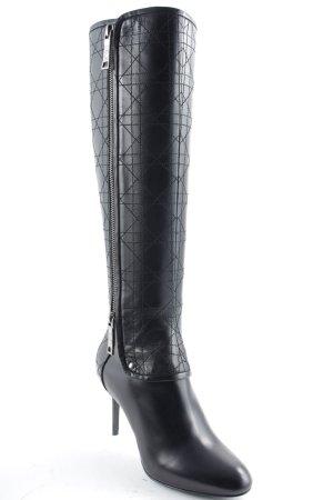 """Christian Dior Absatz Stiefel """"Guetre Botte Noir 36,5 """" schwarz"""