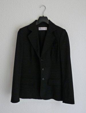 Christian Dior Blazer S M 38 Jacke schwarz Designer Fashion Blogger Business Paris chic elegant