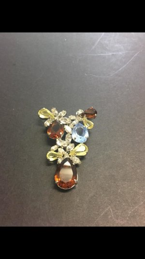 Christian Dior Broche brun sable