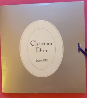 Christian Dior Silk Scarf multicolored silk