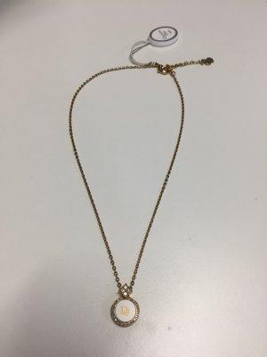 Christian Dior Halskette mit Logo-Anhänger