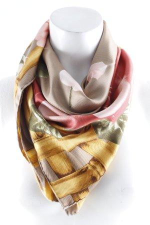 Christian Dior Neckerchief flower pattern extravagant style