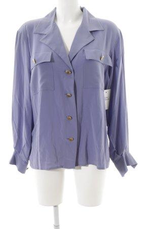 Christian Dior Blusa-camisa púrpura look casual