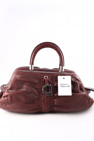 Christian Dior Henkeltasche bordeauxrot Street-Fashion-Look