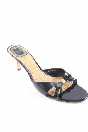 Christian Dior High Heel Sandal black elegant