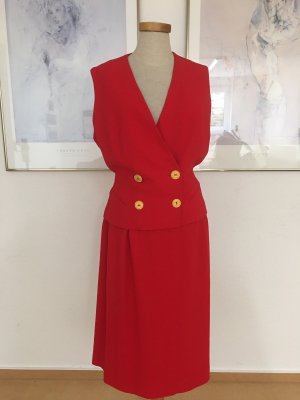 Christian Dior Lange blazer rood