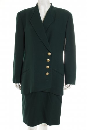 Christian Dior Kostüm waldgrün Casual-Look