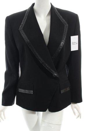 Christian Dior Kurz-Blazer schwarz klassischer Stil