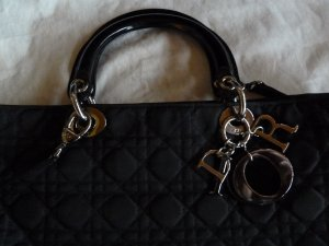 Christian Dior Shopper black textile fiber
