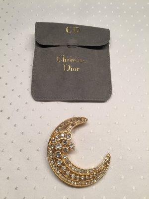 Christian Dior Broche goud Metaal