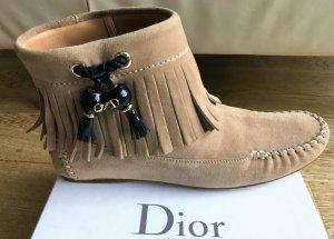 Christian Dior Slip-on laarzen veelkleurig Suede