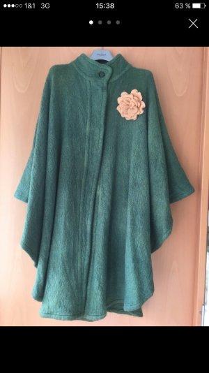 Christian Dior Poncho grün Jacke