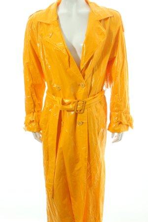 Christian Dior Regenmantel gelb sportlicher Stil