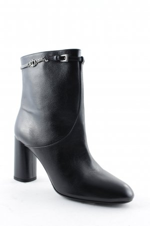 "Christian Dior Stivaletto con zip ""Chic Low Boot Noir 39,5 "" nero"