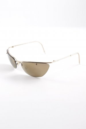 "Christian Dior Retro Brille ""DIOR FLASH"" goldfarben"