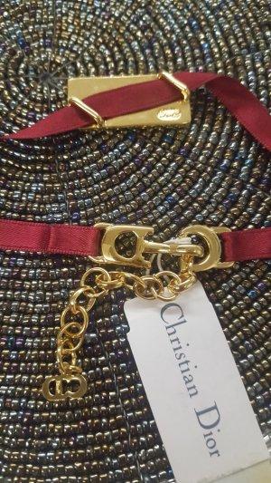 Christian Dior Satin Armband Signatur