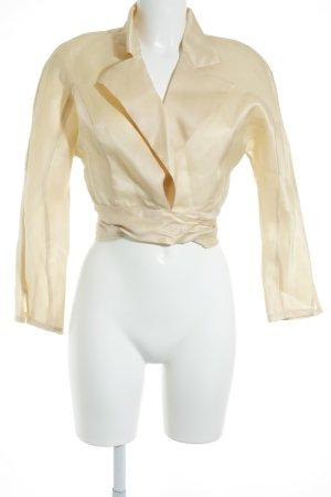 Christian Dior Seidenbluse blassgelb Elegant