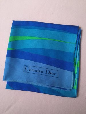 Christian Dior Zijden doek veelkleurig