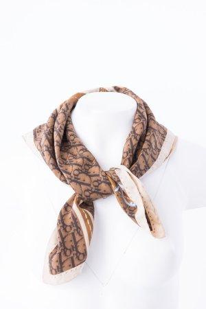 Christian Dior Foulard en soie multicolore soie