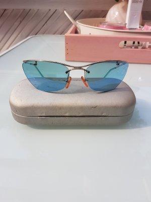 Dior Lunettes de soleil argenté-bleu clair