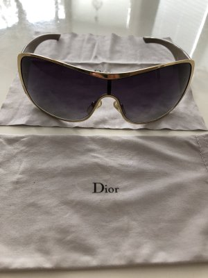 Christian Dior Oval Sunglasses light brown-beige