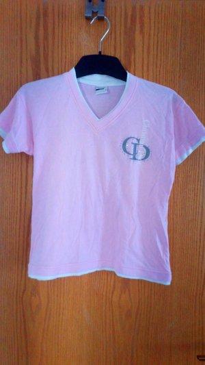 Christian Dior T-Shirt in Rosa