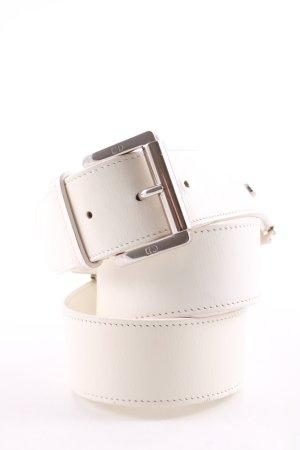 Christian Dior Ceinture de taille blanc cassé style d'affaires