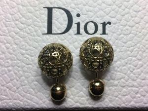 Christian Dior Clou d'oreille doré or