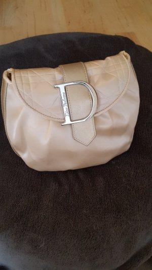 Christian Dior Borsetta mini argento-crema