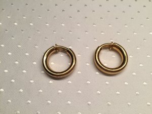 Christian Dior Earclip gold-colored metal