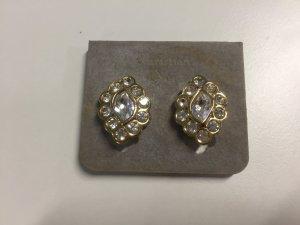Christian Dior Vintage Ohrclips mit Steinen