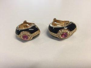 Christian Dior Vintage-Ohrclips mit Steinen
